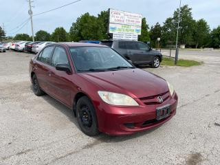Used 2005 Honda Civic SE for sale in Komoka, ON