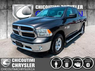 Used 2017 RAM 1500 Cabine multiplaces 4RM, 140,5 po ST for sale in Chicoutimi, QC
