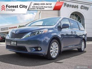 Used 2016 Toyota Sienna XLE | AWD | One Owner Trade! for sale in London, ON
