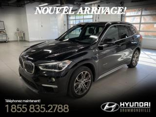 Used 2016 BMW X1 28I XDRIVE + GARANTIE + CAMERA +  MAGS for sale in Drummondville, QC