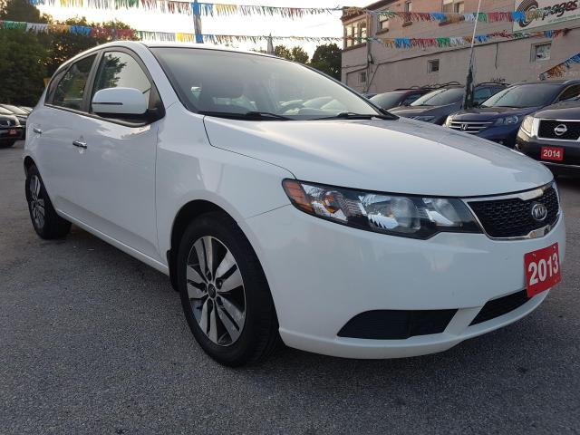 2013 Kia Forte5 EX-MINT CONDITON-ONLY 96K-BLUETOOTH-AUX-USB-ALLOYS