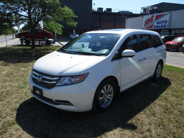 2015 Honda Odyssey EX-L~8 PASS.~NAV.~REAR/SIDE CAM.~REMOTE START