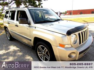 Used 2009 Jeep Patriot SPORT - 4WD - 5 SPEED for sale in Woodbridge, ON