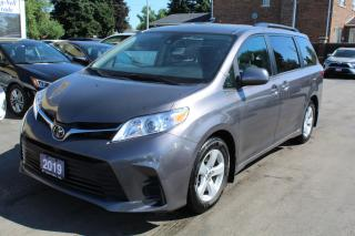 Used 2019 Toyota Sienna LE 8 PASSENGERS for sale in Brampton, ON
