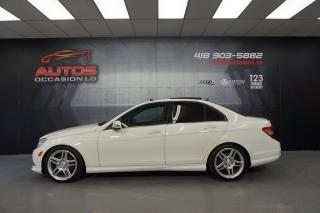 Used 2011 Mercedes-Benz C-Class C350 4MATIC MAGS CUIR TOIT GPS NAV XÉNON 139 084 for sale in Lévis, QC