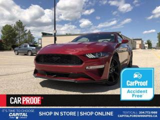 Used 2019 Ford Mustang EcoBoost Premium *No Accidents *A/C Seats *Navigation for sale in Winnipeg, MB