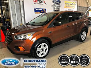Used 2017 Ford Escape 4 portes S, Traction avant for sale in Laval, QC