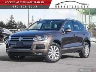 Used 2011 Volkswagen Touareg 3.0 TDI Comfortline DIESEL | LOW KMS | NAVIGATION | HEATED LEATHER | SUNROOOF for sale in Stittsville, ON
