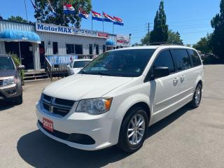 Used 2013 Dodge Grand Caravan SXT-SOLD SOLD for sale in Stoney Creek, ON