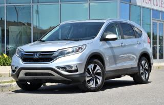 Used 2016 Honda CR-V DEAL PENDING Touring NAVI CUIR TOIT BAS KM AWD*CUIR*TOIT*GPS*CAMERA*SIEGES CHAUFFANTS*BLUETOOTH*++ for sale in Lachine, QC