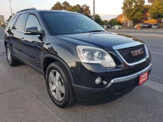 Used 2009 GMC Acadia SLT1-7 SEATS-LEATHER-SUNMOONROOF-BLUETOOTH-ALLOYS for sale in Scarborough, ON