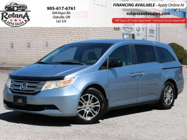 2011 Honda Odyssey EX_ 8 Passengers_Rear Camera_Heated Seats