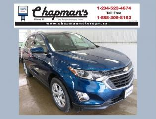 New 2020 Chevrolet Equinox LT Remote Start, HD Rear Vision Camera, Heated Seats for sale in Killarney, MB