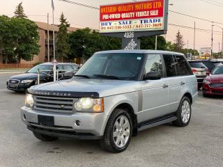 Used 2008 Land Rover Range Rover HSE for sale in Toronto, ON