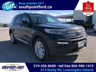 New 2020 Ford Explorer LIMITED for sale in Leamington, ON