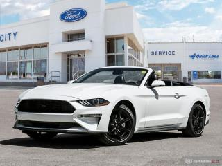New 2020 Ford Mustang EcoBoost Premium for sale in Winnipeg, MB
