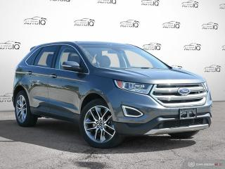 Used 2016 Ford Edge Titanium 3.5L  V6 | Moonroof | Navigation | CLASS II TRAILER TOW | for sale in Oakville, ON