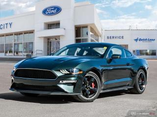 New 2020 Ford Mustang BULLITT for sale in Winnipeg, MB
