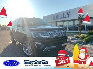 Used 2019 Ford Expedition Max Platinum Max, Rea DVD, AWD, Loaded!! for sale in Tilbury, ON