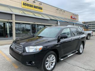 Used 2008 Toyota Highlander HYBRID 4WD 4dr Limited for sale in North York, ON