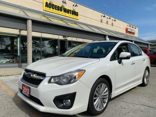 Used 2013 Subaru Impreza 4dr Sdn Man 2.0i w/Limited Pkg for sale in North York, ON