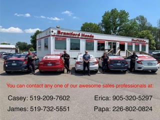 Used 2020 Honda Civic Hatchback Sport 4dr FWD Hatchback for sale in Brantford, ON