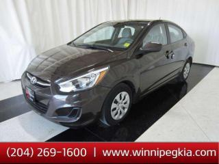 Used 2016 Hyundai Accent GL *Always Owned In Manitoba!* for sale in Winnipeg, MB