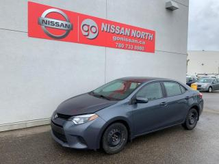 Used 2014 Toyota Corolla LE for sale in Edmonton, AB
