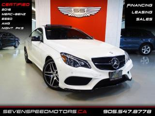 Used 2016 Mercedes-Benz E-Class E550 4MATIC | CERTIFIED | COUPE | AMG | FINANCE @ 4.65% for sale in Oakville, ON