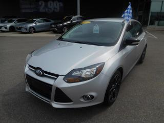 Used 2013 Ford Focus 5dr HB SE,MAGS,A/C,CRUISE,BLUETOOTH for sale in Mirabel, QC