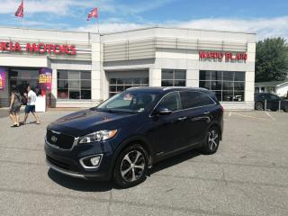 Used 2017 Kia Sorento EX V6 **7 PLACE, CUIR, VOLANT CHAUFFANT** for sale in Mcmasterville, QC