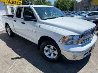 Used 2013 RAM 1500 ST/ QUAD CAB/ 4X4/ ALLOYS/ FOLDING TONNEAU COVER++ for sale in Scarborough, ON
