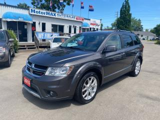 Used 2015 Dodge Journey R/T-AWD-7PASS.-ACCIDENT FREE for sale in Stoney Creek, ON