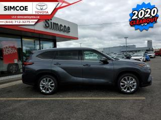 New 2020 Toyota Highlander Hybrid Limited  - Leather Seats for sale in Simcoe, ON