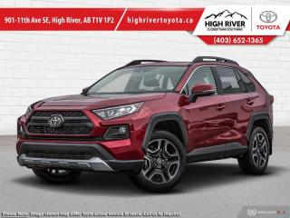 New 2020 Toyota RAV4 Trail  - Leather Seats -  Sunroof for sale in High River, AB