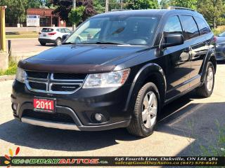 Used 2011 Dodge Journey SXT|NO ACCIDENT|5SEATS|PUSH START|BT|CERTIFIED for sale in Oakville, ON