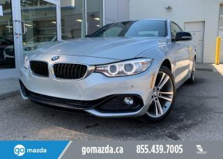 Used 2016 BMW 4 Series 428 - X DRIVE, HEADS UP DISPLAY, LEATHER, NAV, ROOF for sale in Edmonton, AB