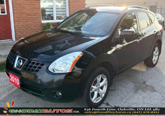 2010 Nissan Rogue SL|LOW KM|SINGLE OWNER|NO ACCIDENTS|CERTIFIED