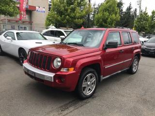 Used 2008 Jeep Patriot LIMITED for sale in Abbotsford, BC