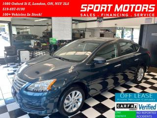 Used 2015 Nissan Sentra SV+Camera+Heated Seats+Keyless Entry+Accident Free for sale in London, ON