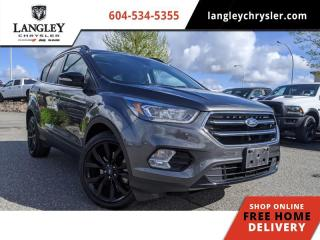 Used 2017 Ford Escape Titanium  Panoramic sunroof / Navi / Backup / Car Like Handling for sale in Surrey, BC