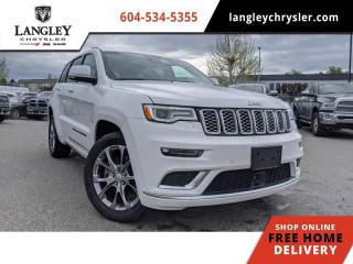 Used 2019 Jeep Grand Cherokee Summit  Fully Loaded / Plush interior / Plenty of off-road ability for sale in Surrey, BC