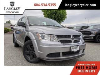 Used 2016 Dodge Journey CVP Canada Value Package  CVP / Fuel Efficient 4 cyl / Low Km / 3 Month Powertrain Warranty for sale in Surrey, BC
