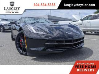 Used 2016 Chevrolet Corvette 1LT  Convertible / Loaded w/Options / Racetrack-ready braking for sale in Surrey, BC