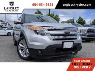 Used 2013 Ford Explorer Limited  Leather / Sunroof / Backup / Upscale cabin for sale in Surrey, BC