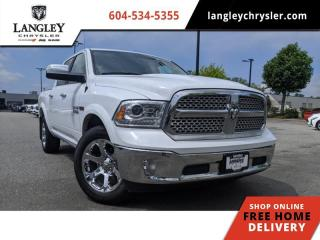 Used 2017 RAM 1500 Laramie  Loaded W/Options / Smooth and Efficient for sale in Surrey, BC