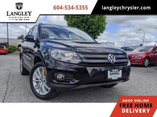 Used 2014 Volkswagen Tiguan S/SE/SEL/R-LINE  Loaded / Refined ride and handling / Bluetooth for sale in Surrey, BC