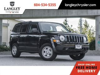 Used 2016 Jeep Patriot Sport  Low KM /  Warranty for sale in Surrey, BC