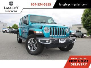 Used 2019 Jeep Wrangler Unlimited Sahara  Sound Group / Navi / Backup / Leather for sale in Surrey, BC