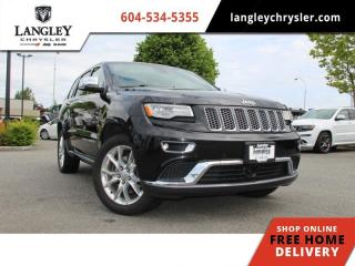 Used 2015 Jeep Grand Cherokee Summit  Diesel / DVD / Loaded for sale in Surrey, BC